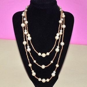 White House Black Market Statement Necklace WHBM ✨